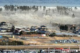 earthquake and tsunami powerful images