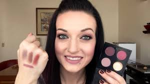 GRWM - <b>MAC</b> Cranberry & <b>Quarry</b> Eye Look - YouTube