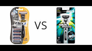 Бритва Bic Flex 3 easy VS Gillette mach 3 - YouTube