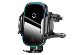 <b>Держатель Baseus Light Electric</b> Holder Wireless Charger Black ...