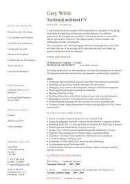 technical architect cv sample  work experience  key skills and    technical architect cv sample  work experience  key skills and competencies  technology jobs  cvs