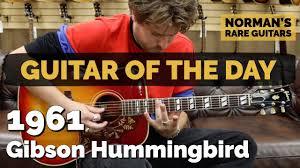 <b>Guitar</b> of the <b>Day</b>: 1961 <b>Gibson</b> Hummingbird | Norman's Rare <b>Guitars</b>