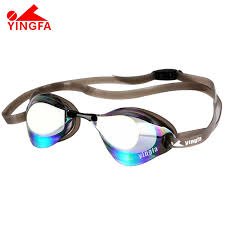 <b>Swimming Goggles Electroplating UV</b> Waterproof Antifog Swim ...