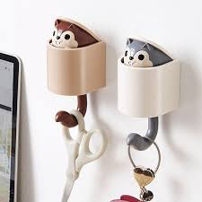 2019 Cartoon Animal <b>Creative Cute Squirrel</b> Coat Rack Hanger ...