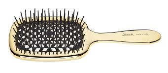 <b>JANEKE</b> SUPERBRUSH RECTANGULAR <b>HAIRBRUSH</b> - <b>GOLD</b> ...