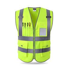 <b>Orange</b> /<b>Green</b> High Visibility <b>Reflective</b> Safety Vest Work <b>Reflective</b> ...