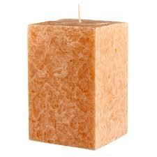 <b>свеча CHAMELEON Куб 7</b>,<b>5х7</b>,<b>5х11см</b> 60ч/г аромат персика   www ...