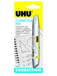 Ручка-корректор <b>UHU</b> 8ml 19   www.flowers-plaza.ru