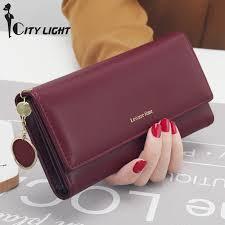 <b>New Fashion</b> Women Wallets <b>Long</b> Style Multi functional wallet ...