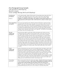 examples of five paragraph essays template examples of five paragraph essays