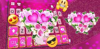 <b>Pink Rose</b> Flower Keyboard Theme - Apps on Google Play