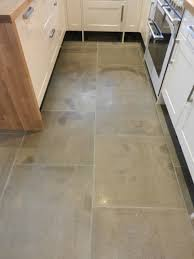 limestone tiles kitchen: moroccan leather limestone kitchen before cleaning