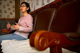 supporters of detained chinese rights lawyer skeptical of confession chinese lawyer wang yu speaks during an interview in beijing s state media on