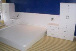 custom bedroom set grey formica