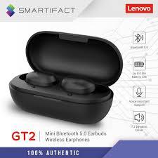 <b>Lenovo GT2 TWS Mini</b> Bluetooth 5.0 Earbuds True Wireless Stereo ...