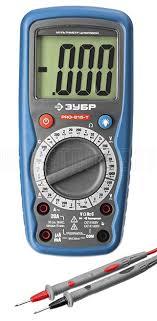 """Цифровой <b>мультиметр ЗУБР</b> """"<b>Профессионал</b>"""" <b>PRO</b>-<b>815</b>-<b>T</b> 59815 ..."""