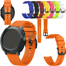 <b>UNIVERSAL</b> 20MM QUICK Release Sports Soft <b>Silicone</b> Watch ...