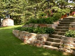 Small Picture Natural Stone Retaining Wall Blocks Nice Set Landscape A Natural