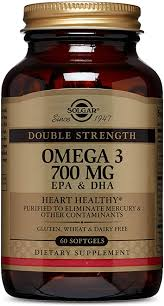 Solgar Double Strength Omega-3 700 mg, 60 Softgels ... - Amazon.com