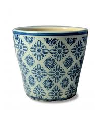 "<b>Кашпо</b> ""Glossy <b>light</b> blue - blue flowers"" Zafferano 10116795 в ..."