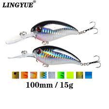 Online Shop <b>1pcs</b> Crank Fishing <b>Lure</b> Artificial <b>Hard</b> Baits 10cm/15g ...