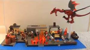 Image result for dragon attacks town