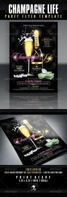 champagne life party flyer template com champagne life party flyer template