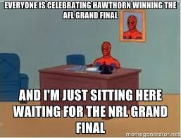 EVERYONE IS CELEBRATING HAWTHORN WINNING THE AFL GRAND FINAL AND I ... via Relatably.com
