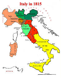 italian unification cavour garibaldi unification essay map of italian states in 1815