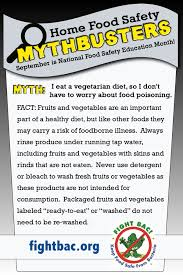 home food safety mythbusters get the fact flyer
