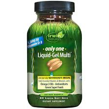 <b>Only One Multi</b> Without Iron (60 <b>Liquid</b> Soft-<b>Gels</b>) by Irwin Naturals at ...