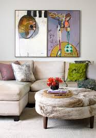 animal hide ottoman living room transitional interesting ideas with tray tray animal hide rugs home office traditional