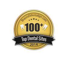 best dental career sites braces or invisalign bracesorinvisalign top 100 plus dental sites badge