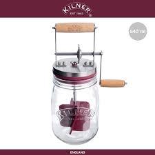Банка-маслобойка Food для домашнего масла, <b>0.5 л</b>, стекло ...