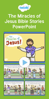 17 best ideas about great powerpoint presentations the miracles of jesus bible stories powerpoint tell the story of the miracles of jesus