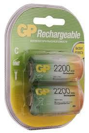 Аккумулятор 2200 мА·ч GP Rechargeable 2200 Series C — купить ...