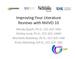 NVivo    for Windows Help   Choosing the best approach for your