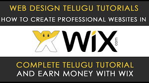 how to create professional website in telugu step by step how to create professional website in telugu step by step tutorial wix telugu tutorials