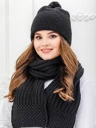 Комплект женский <b>шапка</b> и <b>шарф NORTH</b> CAPS, цвет ...