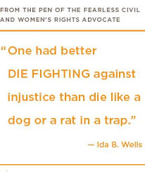 Best 10 distinguished quotes by ida b. wells image French