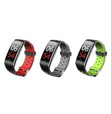<b>CK19</b> Smart Bracelet Fitness Tracker Blood Pressure Heart Rate ...