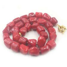 Желтая позолота красный коралл бижутерия - огромный выбор ...