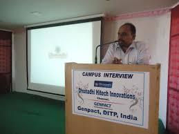 jayalakshmi institute of technology mr gana c e o bbssl explains the job company profile job description