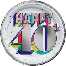 <b>40th Birthday</b> Party Supplies - <b>40th Birthday</b> Ideas & Themes | Party ...