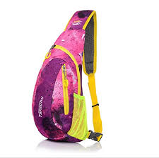 Outdoorsky Colourful <b>Outdoor Sport Small</b> Chest Pack Bag (Pink ...