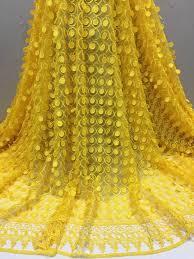 <b>Beautifical</b> Yellow <b>african lace</b> fabrics 3d net <b>lace</b> fabric 2018 Latest ...