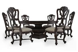 seven piece dining set: hooker rhapsody pedestal seven piece dining set