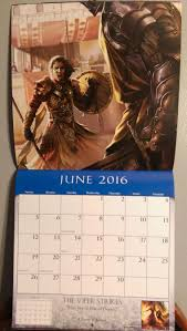 a look at the a song of ice and fire calendar winter is coming asoiaf 2016