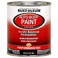 Auto Body Paint Supplies Reds Pinks Automotive Paint The Home Depot