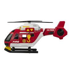 <b>Вертолет пожарный HTI Roadsterz</b> 38 см, артикул: 1416392 ...
